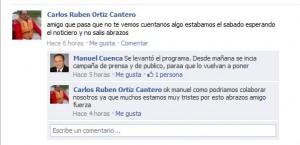 Facebook Manuel Cuenca