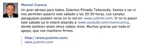 Facebook Tañarandy