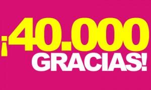 40.000 Gracias
