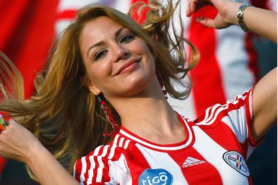 Egni Eckert, Musa de la Copa América / Internet