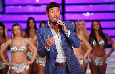 Marcelo Tinelli en Showmatch Foto: Internet