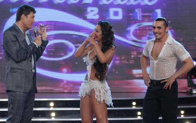 Larissa sigue en Showmatch / Ideas del Sur