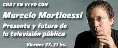 Chat con Marcelo Martinessi