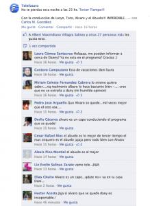 Tercer Tiempo Facebook