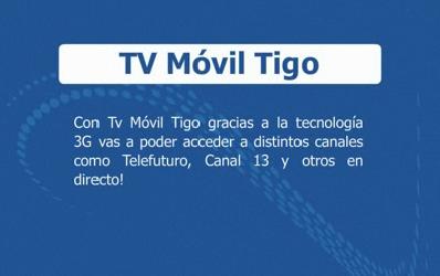 TV Móvil Tigo