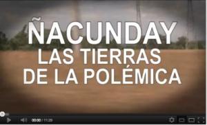 Informe Tv Publica Ñacunday