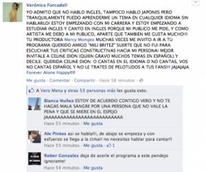 Verónica Forcadell Facebook