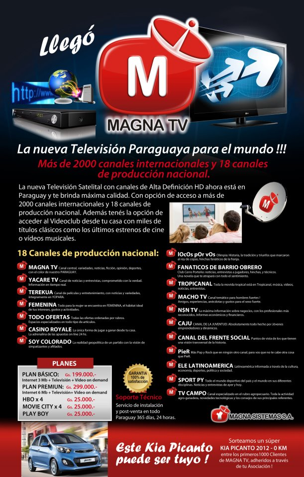 Magna Tv Canales