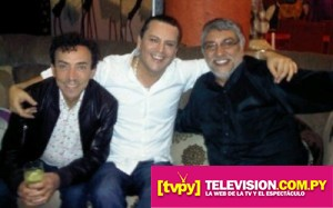 Anibal Pachano con Fernando Lugo