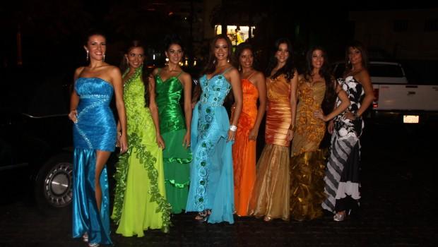 Candidatas a Miss Universo Paraguay 2012 y 2013 Foto: Organización