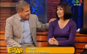 Arnaldo André y Lourdes García
