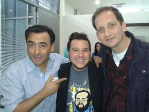 Adal Ramones Jose Ayala y Jorge Ratti