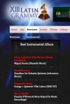 Premios Latin Grammy Berta Rojas
