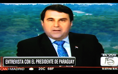 Federico Franco CNN