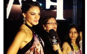 Nicole Huber India Resort Fashion Week