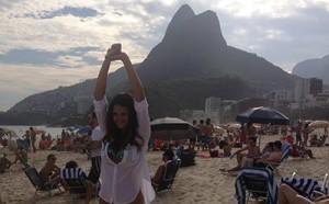 Leryn viajó con Destino Fiesta a Rio de Janeiro