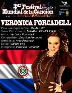 Vero Forcadell actuará en Panamá