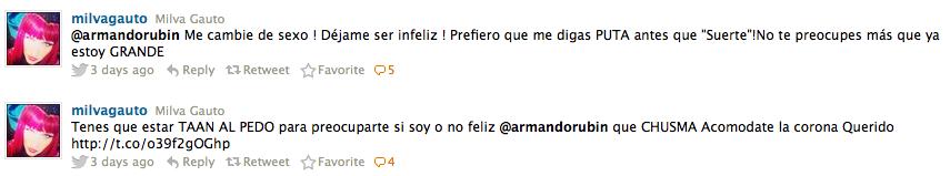 Milva vs. Armando