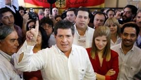 Horacio Cartes Vota