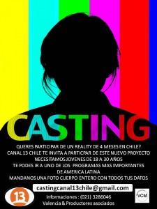 Buscan a jóvenes paraguayos para programa de tv en Chile