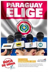 El SNT y Canal 13 cubrirán juntos las elecciones