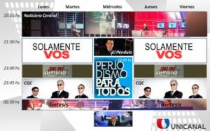 Unicanal incorporó Periodismo para Todos