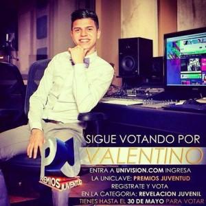 Valentino Premios Juventud
