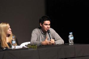 Santiago González participó en ¨Periodismo en crisis¨