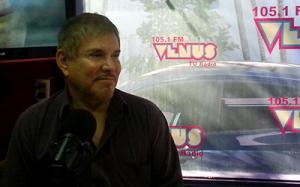 Arnaldo André disparó hoy contra Armando Rubin en Radio Venus Foto: @VenusdeMilva
