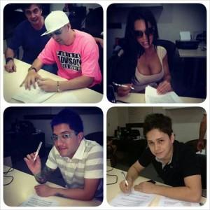 Las figuras que ya firmaron para BCPY 2013 Foto: Facebook