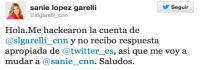 Sannie Lopez Garelli Twitter