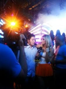 Carmiña Masi en Baila Conmigo Foto: TVPY