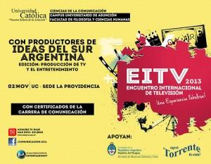 EiTV 2013 se llevará a cabo el 2 de Noviembre en la UCA