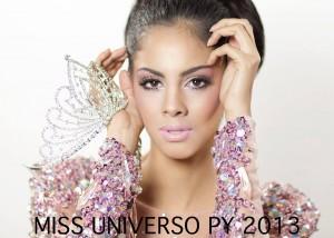 Guadalupe González representará a Paraguay en Miss Universo 2013 Foto: Facebook