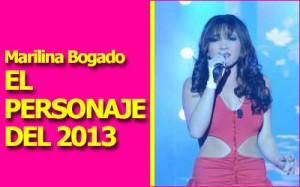 Marilina fue elegida el Personaje del 2013 Foto: Facebook