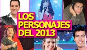 ¿Quién es el personaje del 2013?