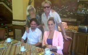 Juan Carlos Amoroso producirá cápsulas con Tania Domaniczky Foto: Gentileza