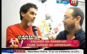 Hernán Caire y la repercusión en Argentina Foto: Video @ejercitodebdv