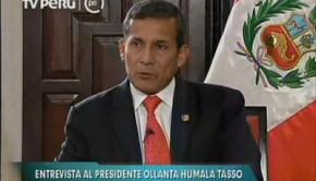 Humala alerta sobre concentración de medios Fuente: Youtube/PerúTv