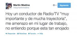 Martin Medina Twitter
