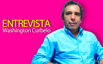 Washington Curbelo. Director de Manpizzo Paraguay