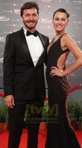 El actor chileno Benjamín Vicuña y la modelo argentina Pampita Ardohain