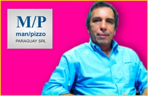 Washington Curbelo - Director de Manpizzo Paraguay