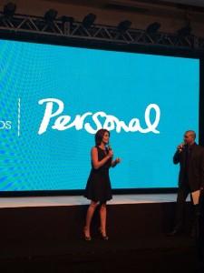 Pamela David y Robert Lemos presentaron el nuevo Personal TV HD Foto: Gentileza