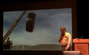 Rick Perry dió charla sobre Efectos Especiales en el CCPA Foto: TVPY