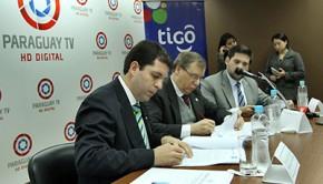 Paraguay Tv llegará a más hogares a través de Tigo Tv Foto: IP Paraguay