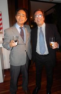 Washington Curbelo de Manpizzo Paraguay y Seiichi Yamamoto de Sony PSLA