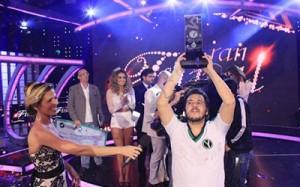 José Ayala ganó Yingo Famosos Foto: epa.com.py