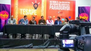 El panel contó con presencia de los canales de aire de Paraguay