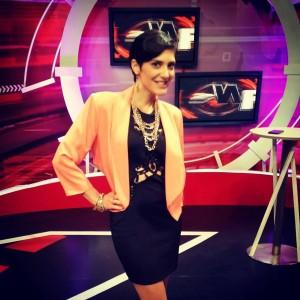 Lucía Sapena cambió de canal en el 2014 Foto: Facebook